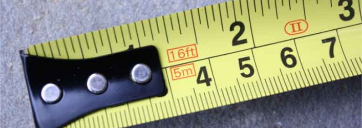 Printed tape measure 2