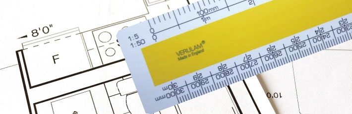 VERULAM scale rulers